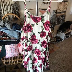 Forever 21 off the shoulder floral dress